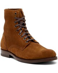 Frye - Will Lace-up Suede Boot - Lyst