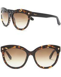Ferragamo - 55mm Fashion Sunglasses - Lyst
