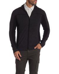Autumn Cashmere - Piped Trim Two Tone Cashmere Track Jacket - Lyst