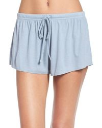 Barefoot Dreams - (r) Luxe Lounge Shorts - Lyst