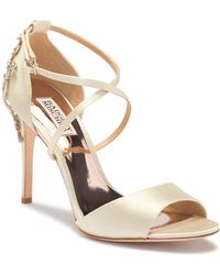 Badgley Mischka - Karmen Stiletto Jeweled Pump - Lyst