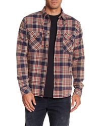 Quiksilver - Tangloop Plaid Flannel Shirt - Lyst