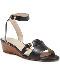 Cole Haan - Terrin Ankle Strap Wedge Sandal - Lyst