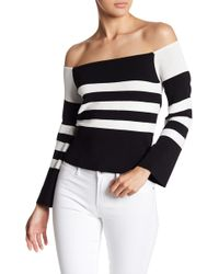 BB Dakota - Alexandra Off-the-shoulder Sweater Top - Lyst