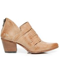 Bed Stu - Trough Leather Bootie - Lyst