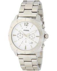 Fossil - Men's Privateer Chronograph Bracelet Watch, 45mm - Lyst