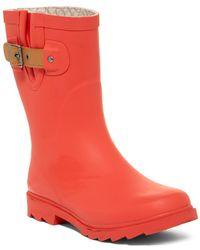 54e30c0edfbe Chooka - Top Solid Mid Waterproof Rain Boot - Lyst