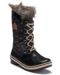 Sorel - 'tofino Ii' Faux Fur Lined Waterproof Boot - Lyst