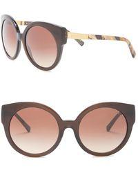 Michael Kors - Round 55mm Sunglasses - Lyst