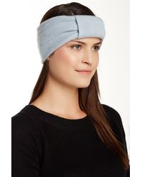 Portolano - Knotted Cashmere Headband - Lyst