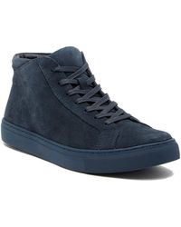 Kenneth Cole Reaction - Design Suede Hi-top Sneaker - Lyst
