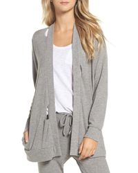 Chaser | Love Knit Deconstructed Cardigan | Lyst