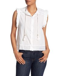 Zadig & Voltaire - Cory Sleeveless Top - Lyst