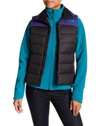 The North Face - Quilted Puffer Vest - Lyst