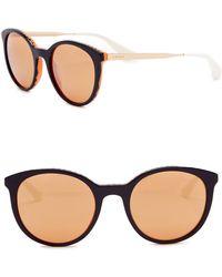 95b14a6a85 Prada - Phantos Catwalk 53mm Cat Eye Sunglasses - Lyst