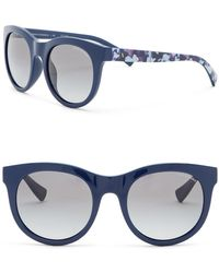 b638930d69e2 Lyst - Armani Exchange Men s Square 55mm Acetate Frame Sunglasses in ...