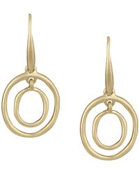 The Sak - Mini Oval Orbit Dangle Earrings - Lyst