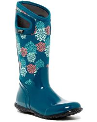 Bogs - Hampton Pom Pon Waterproof Rain Boot - Lyst