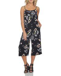 1.STATE - Print Culotte Jumpsuit - Lyst