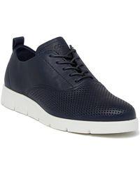ECCO Bella Tie Perforated Sneaker Qt8v8RKI