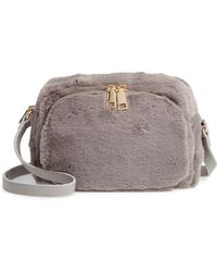 Jules Kae Cameron Faux Fur Crossbody Bag