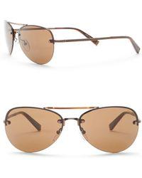 John Varvatos - 59mm Aviator Sunglasses - Lyst