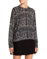 Zadig & Voltaire | Markus Pattern Silk Blend Sweater | Lyst