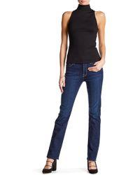 Jen7 - Slim Straight Denim Jean - Lyst