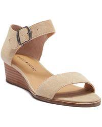 Lucky Brand - Renzee Platform Sandal - Lyst
