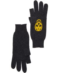 Skull Cashmere - Luther Gloves - Lyst