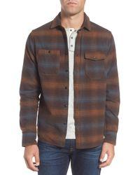Jeremiah - Canyon Plaid Brushed Twill Regular Fit Shirt - Lyst