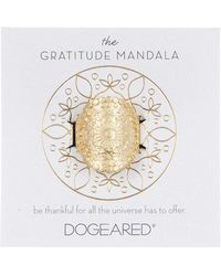 Dogeared - The Gratitude Mandala Ring - Size 5 - Lyst