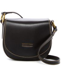 Frye - Harness Small Leather Saddle Bag - Lyst