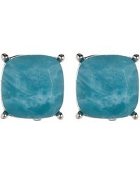Vince Camuto - 10mm Turquoise Stud Earrings - Lyst