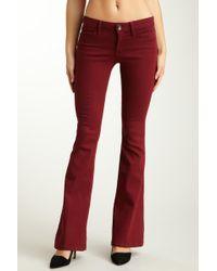 Level 99 - Callista Flare Trousers - Lyst