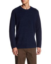 Theory - Crew Neck Cashmere Sweater - Lyst