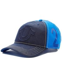 True Religion - Raised Horseshoe Baseball Cap - Lyst
