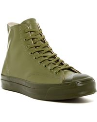 Converse - Jack Purcell Signature Rubber High Top Shoe - Lyst