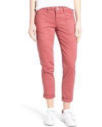 Wit & Wisdom - Skinny Cargo Pants (regular & Petite) (nordstrom Exclusive) - Lyst