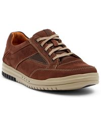 Clarks Unrhombus Go Leather Sneaker - Wide Width Available 17lphZ