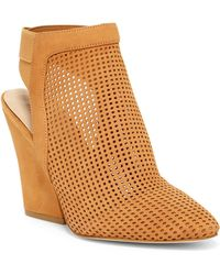 Guess - Norine Perforated Bootie - Lyst