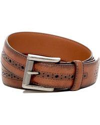 1901 - Roller Buckle Leather Belt - Lyst