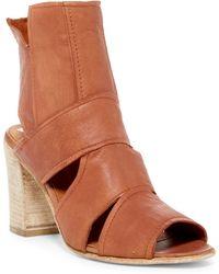 Free People | Effie Block Heel Sandal | Lyst