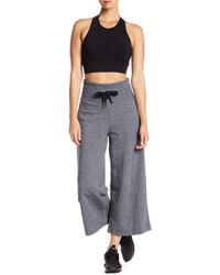 Donna Karan - Drawstring Culotte Sweatpants - Lyst