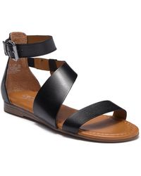 Franco Sarto Griffith Leather Sandal xafdpOt0f9
