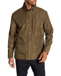 Cole Haan - Packable Button Front Jacket - Lyst