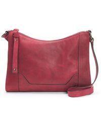 Frye - Melissa Leather Crossbody Bag - Lyst