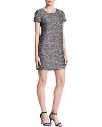 Cece by Cynthia Steffe - Kayte Short Sleeve Tweed Dress - Lyst