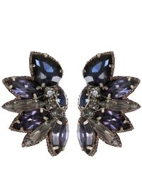 Suzanna Dai - Macape Crystal Earrings - Lyst