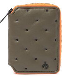 Rag & Bone - Dot Dash Leather Zip Wallet - Lyst